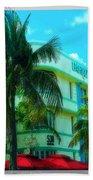Art Deco Barbizon Hotel Miami Beach Beach Towel