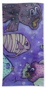 Fish Art Beach Towel