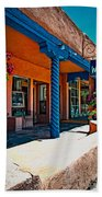 Art Gallery In Taos Beach Towel