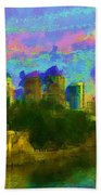 Art Museum Rhapsody Beach Towel