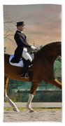 Art Of Dressage Beach Towel