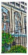 Art On The Wall Beach Towel