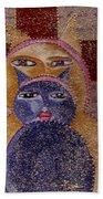 Art Picasso Cats Beach Towel