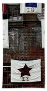 art textures holidays in Old Towne Beach Towel