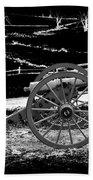 Artillery At Gettysburg Beach Towel