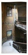 Artistic Staircase In Tbilisi Beach Towel