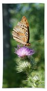 Artistic Butterfly Stand  Beach Towel