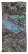 Artists Pallet Death Valley Ca Img 0448 Beach Towel