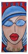 Artists Stores Beach Towel