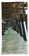 Long Walk Short Pier Beach Towel