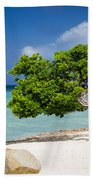 Aruba Tree Beach Towel