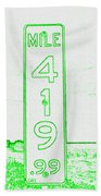 As Pure As It Gets Inverted Beach Towel