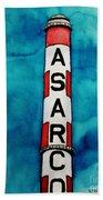 Asarco In Watercolor Beach Towel