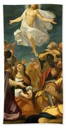 Ascension Of Christ Beach Towel