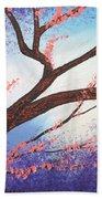 Asian Bloom Triptych 1 Beach Towel