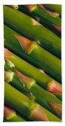 Asparagus Beach Towel