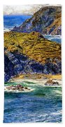 Aspargus Island Beach Towel