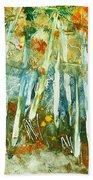 Aspen Fall Time Beach Towel
