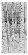 Aspen Forest Beach Towel