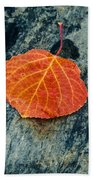 Aspen Leaf  Beach Towel