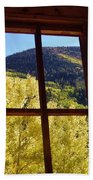 Aspen Window 2 Beach Towel