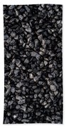 Asphalt Gravel Beach Towel by Hakon Soreide