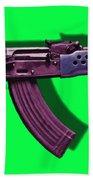 Assault Rifle Pop Art - 20130120 - V3 Beach Towel