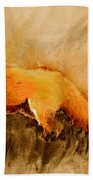 Assessing The Situation Antiqued Beach Towel