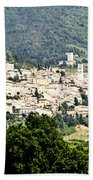 Assisi Italy - Medieval Hilltop City Beach Towel