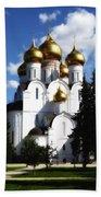 Assumption Cathedral Yaroslavl Russia Beach Towel