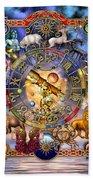 Astrology Beach Towel by Ciro Marchetti