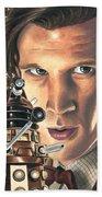 Doctor Who - Asylum Of The Daleks Beach Towel