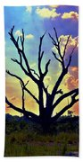 At Life's End There Is Light Beach Towel
