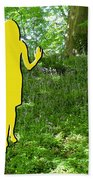 At One With Nature Beach Towel