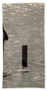 Seadrift Texas Birds At Rest Beach Towel