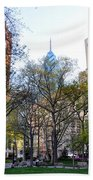 At Rittenhouse Square Beach Towel