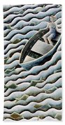 At Sea Beach Towel by Celia Washington