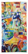 at the age of three years Avraham AVine recognized his Creator 5 Beach Towel
