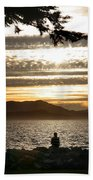At The End Of The Day Beach Towel