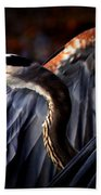 At Waters Edge - Great Blue Beach Towel