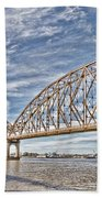 Atchafalaya River Bridge Beach Towel
