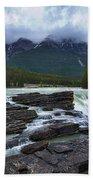 Athabasca Falls #3 Beach Towel