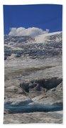 Athabasca Glacier 1 Beach Towel