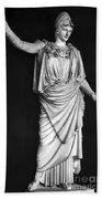 Athena Or Minerva Beach Towel