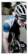 Athletic Male High Speed Cycling Beach Towel
