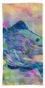 Atlantic Codfish Digital Color Beach Towel