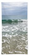 Atlantic Ocean Surf Beach Towel