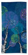 Atlantis Arbor Beach Towel