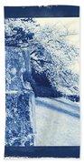 Atsugi Pillbox Walk  E Beach Towel