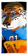 Auburn Tiger Beach Towel